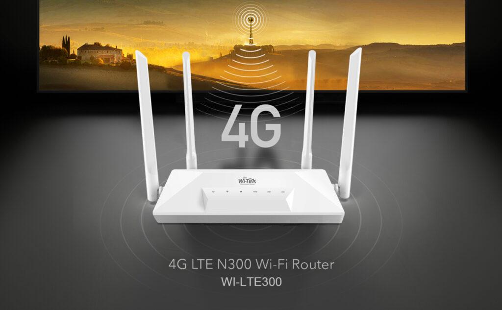 4G con WI-TEK WI-LTE300
